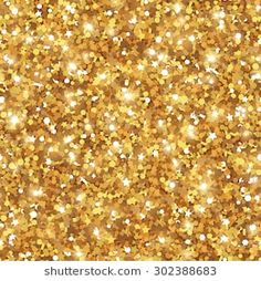 Glowing New Year Or Christmas Backdrop Golden Dust Abstract Seamless Gold Background Sequins Tiling Pattern Vector Illustration Lights And Sparkles