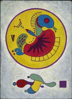 Wassily Kandinsky (1866-1944), Untitled - Musée National d'Art Moderne, Centre Georges Pompidou ~ Paris, France