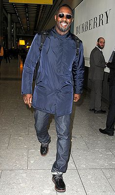 Idris Elba — sharp in his casual travel clothes — touched down in his native London (at Heathrow Airport) after a flight from L.A. Feb. 25.