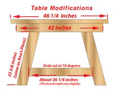Build a stylish table with these free DIY farmhouse table plans. They come in a variety of styles and sizes so you can build the perfect one for you. Diy Furniture Plans, Woodworking Furniture, Furniture Projects, Woodworking Shop, Woodworking Plans, Woodworking Projects, Antique Furniture, Furniture Design, Asian Furniture