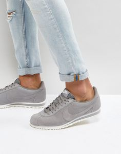 fd328394f952 Get this Nike s sneakers now! Click for more details. Worldwide shipping.  Nike Classic Cortez SE Trainers In Grey 902801-003 - Grey  Trainers by Nike,  ...