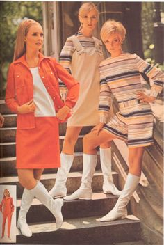 1968..My 60's style...I wanted a pair of those boots SO BAD !!!