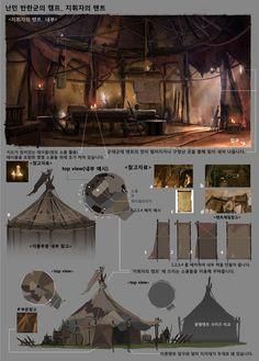 ::an orc bivy::   ArtStation - Professional work / 2013, Byung Cheol (FEBUD)