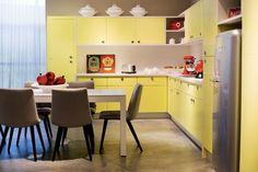 12 ideias para ter uma cozinha amarela