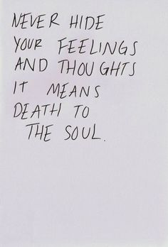 my soul never hides.