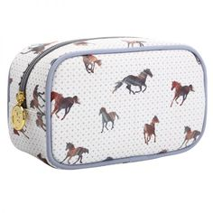 Majestic Horses Make Up Bag