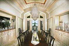 97 best extravagant dining rooms images lunch room dining room rh pinterest com  extravagant dining room furniture