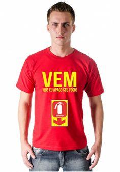 Camiseta Vem que eu apago por apenas R$39.90