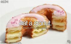 bucket list: eat a cronut in NY