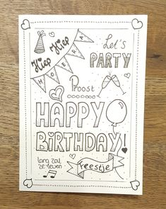 happy birthday wishes quotes for friends, brother, sister, boss, wife and happy birthday wishes quotes with images for free to share. Happy Birthday Book, Happy Birthday Drawings, Happy Birthday Cards Handmade, Happy Birthday Posters, Creative Birthday Cards, Birthday Card Drawing, Birthday Cards For Friends, Bday Cards, Friend Birthday Gifts