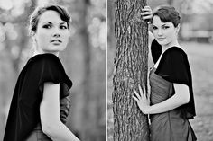 Audrey Hepburn inspired photo session. love the one on the left