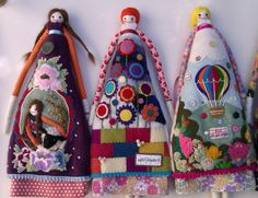 Dolls for USA by Annie Montgomerie, via Flickr
