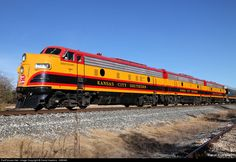 RailPictures.Net Photo: KCS 1 Kansas City Southern Railway EMD FP9 at Greenville, Texas by David Hawkins - KB5WK