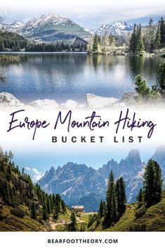 Camping Places, Camping And Hiking, Hiking Trails, Hiking Gear, Hiking Training, Hiking Places, Hiking Food, Hiking Europe, Europe Travel Guide