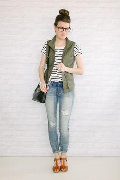 glasses utility vest top knot http://www.un-fancy.com/