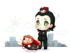 Loki, Thor & Dr. Strange tsum tsum || Thor Ragnarok || Cr: Roku21