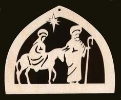 Mary and Joseph Ornament Unfinished Craft Wood #1200-4 | eBay $2.50 ea. same vendor as others; flat $5 shipping
