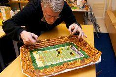 Edible Superbowl Stadium :)