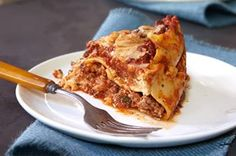 Slow-Cooker Lasagna. Made this for dinner tonight. A big hit w the whole family!