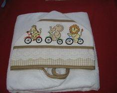 Hooded Towels, Bath Linens, Baby Washcloth, Cross Stitch Animals, Needlepoint, Dots, Dressmaking