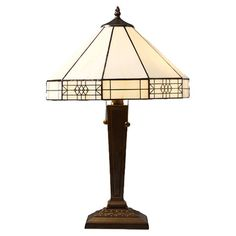 "Found it at Wayfair - Mission 21"" H Table Lamp with Empire Shade http://www.wayfair.com/daily-sales/p/Table-Lamps-in-Every-Style-Mission-21%22-H-Table-Lamp-with-Empire-Shade~WHY1231~E16684.html?refid=SBP"
