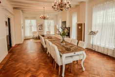 Hotel het Oude Raadhuis - Rivièra Maison Dining Table, Rustic, Furniture, Home Decor, Country Primitive, Dinning Table, Farmhouse Style, Interior Design, Dining Rooms