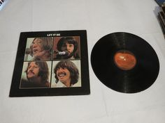 The Beatles Let It Be AR 34001 album RARE Apple Record LP vinyl record*^