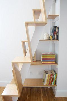 super-kreative-Platzsparende-Treppe-im-Hause-