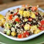 Mel's Kitchen Cafe | Black Bean and Sweet Corn Quinoa Salad
