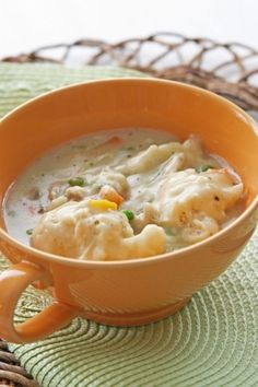 No time to make dinner? Super fast and easy Chicken and Dumplings!