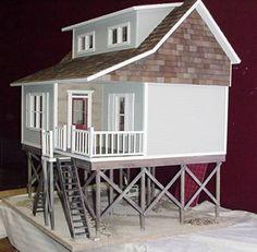Folly Beach Milled in Dollhouse Kit ....isn't this awsome? Diane Leyh