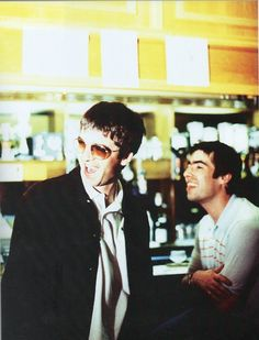 Noel and Liam Gallagher- Yeah well these lads from Manchester gave me something to believe in at a time when I was lost. They are always there for me- in their music of course! Lennon Gallagher, Noel Gallagher, Liam Oasis, Football Music, Oasis Fashion, Oasis Band, Liam And Noel, Britpop, Wattpad