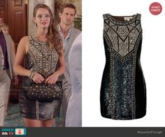 Needle & Thread Studded Contour Dress worn by Merritt Patterson on The Royals Fashion Tv, Royal Fashion, Fashion Outfits, Fashion Design, Rebel Outfit, Dressed To Kill, Fall Wardrobe, Sequin Dress, Celebrity Style