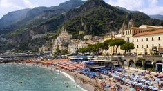 Perched over the Tyrrhenian Sea, the Amalfi Coast is a great winter getaway. You may not be lounging poolside in your bikini in the dead of winter, but the temperature along this rocky green coastline rarely drops below 50 degrees. For a dose of history, visit nearby Pompeii, and take the hydrofoil to Capri to see the sunlight stream into the fabled Blue Grotto. Oh, and don't leave without at least a few sips of limoncello!