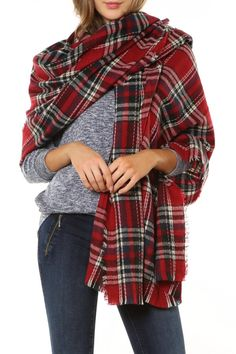 We're loving this fabulous scarf / shawl from Plum Clothing!