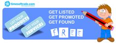Get Listed Get Promoted Get Found : Is your business listed? Free list your business on india's largest #B2Bbusiness listing directory Times of Trade.  For more Information Visit Us: http://www.timesoftrade.com/