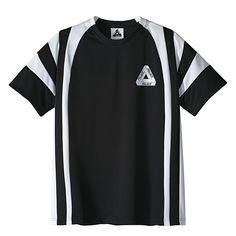 Adidas x Palace T-Shirt Black / White | Flatspot