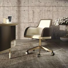 DEKA armchair on rollers   Chi Wing Lo, Designed & Made in Italy