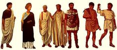 Learn about ancient Roman clothing and fashion, including hairstyles, jewelry, footwear, and even underwear. In much the same way that a Fendi handbag or Armani suit might indicate a person's degree of wealth or social class today, an ancient Roman's manner of dress indicated his/her position in society.