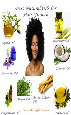 The Best Natural Oils For Hair Growth