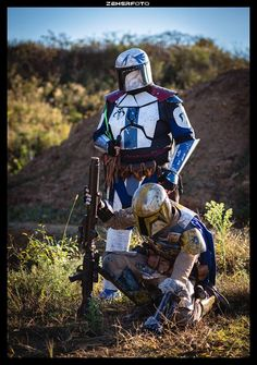 Ronin Tavic and Darman Kebii'Tra of Talon Clan