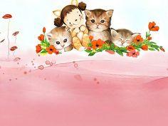 ilustraciones infantiles de Kim Jong Bok -
