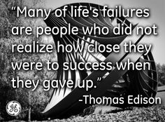 Success lives just past struggle.