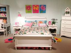 Beautiful girl's room furniture by Young America! #hpmkt