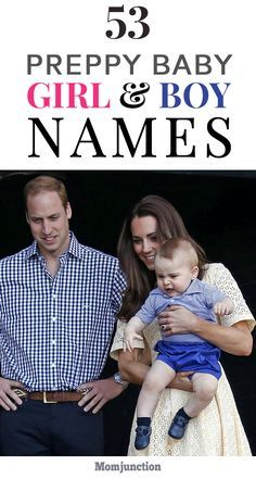 53 Popular Preppy Baby Names For Boys And Girls - Little Boy Names - Ideas of Little Boy Names - Do you want to name your baby with preppy name? Yes then look no futher! Here's our collection of 53 Preppy baby names for boys and girls. Just read on! Preppy Girl Names, Preppy Baby Girl, Boy Girl Names, Little Boy Names, Banner Site, Baby Names 2018, Names Baby, Baby Girls, Southern Baby Names