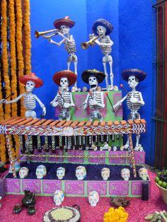 Ofrenda día de Muertos, Casa Azul