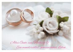 Alles Gute zur Hochzeit | Glückwünsche | Echte Postkarten online versenden…