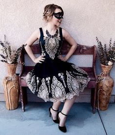In the Chandelier Light Dress   Mod Retro Vintage Dresses   ModCloth.com