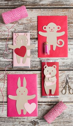 Brand New Valentine Candy Huggers!