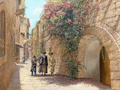 Old streets of Jerusalem